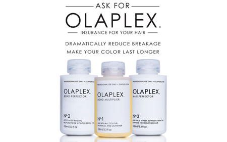 Vauxhall Olaplex 3 hair treatment