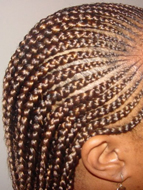 Natural hairstyles Roman road